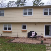 Door Replacement - Rusted, Ugly, Builder's Grade - Before
