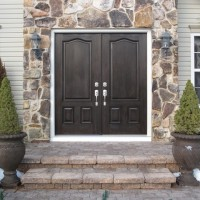 Door Replacement - ProVia Signet Fiberglass French Doors - After