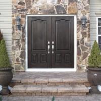 Door Replacement - ProVia Signet Fiberglass French Doors - After
