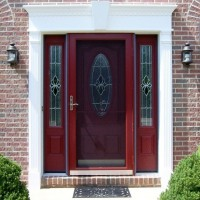 Door Replacement - ProVia Heritage Fiberglass, Fypon Trim - After