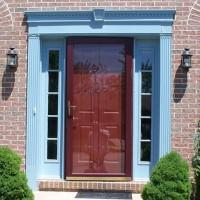 Door Replacement - Rotted Door Jamb, Drafty - Before