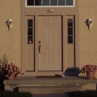 Door Replacement - Rotted Door Jamb, Rust - Before