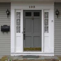 Entry Door Replacement - Before