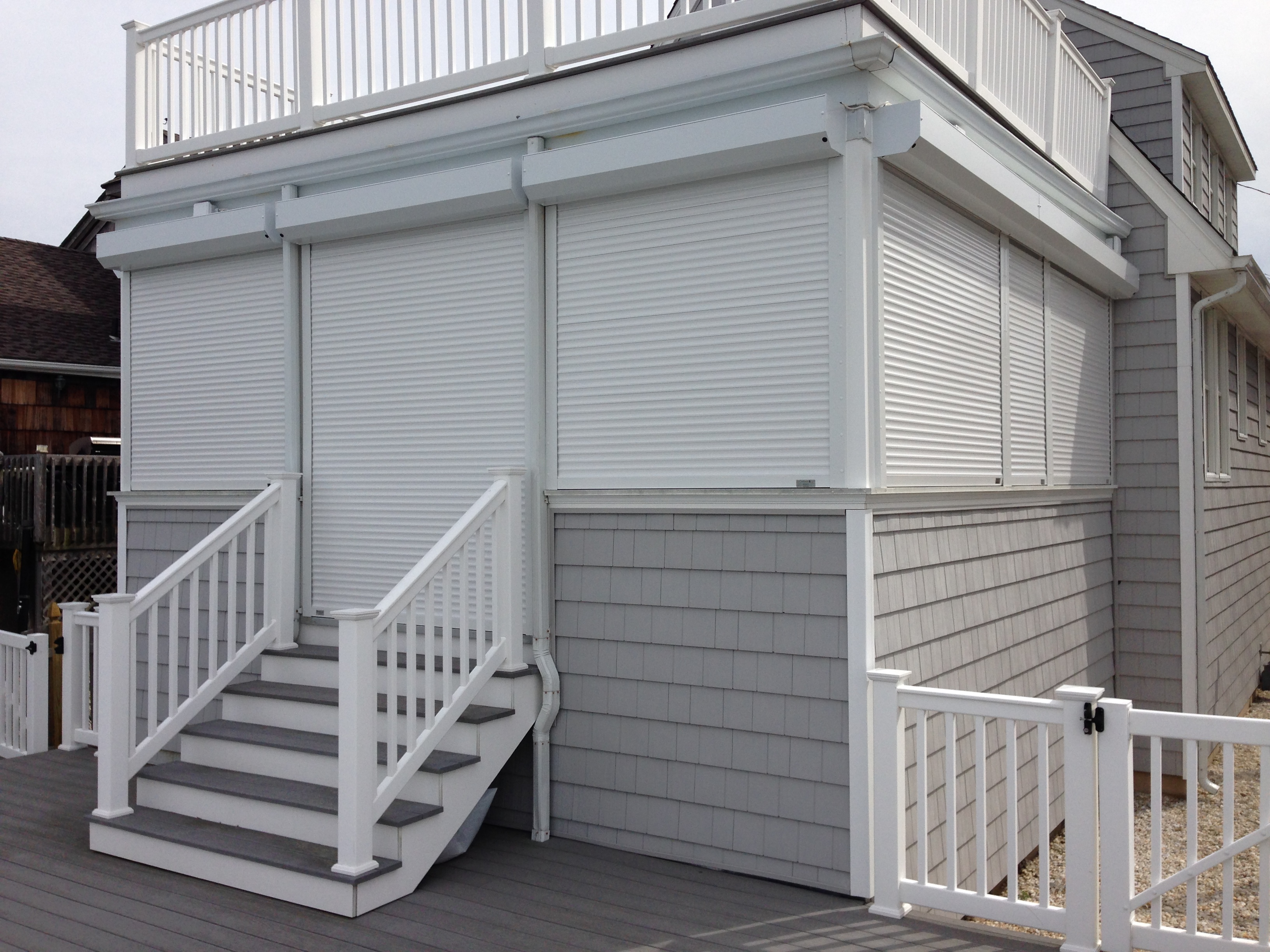 Windows Amp Doors In Cape May Nj Hurricane Shutters Gallery