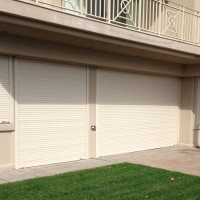 Hurricane Shutters - Motorized Rolling Shutters - Closed