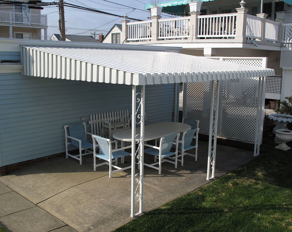 Windows Amp Doors In Cape May Nj Aluminum Awnings Gallery