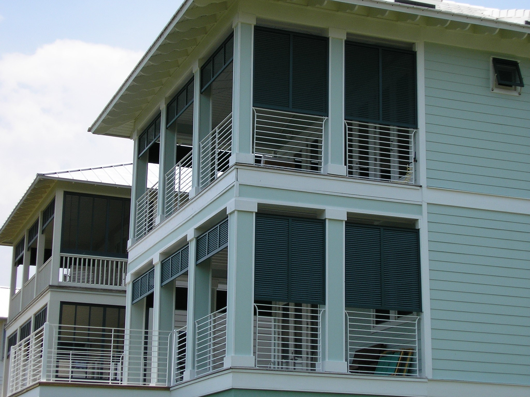 Hurricane shutters bahama accordion How to make exterior shutters